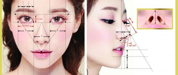 Mũi 5 D đẹp hoàn hảo 5 góc độ