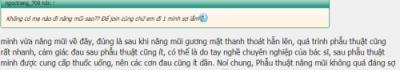 Ngọc Trang chia sẻ nâng mũi có đau không