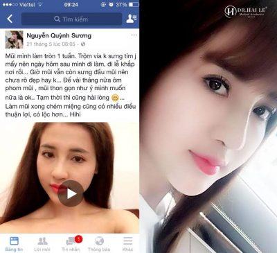 Hotgirl Quỳnh Sương tin tưởng Dr.Hải Lê