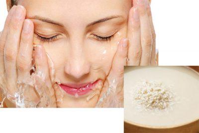 Rửa mặt bằng nước vo gạo có tốt không
