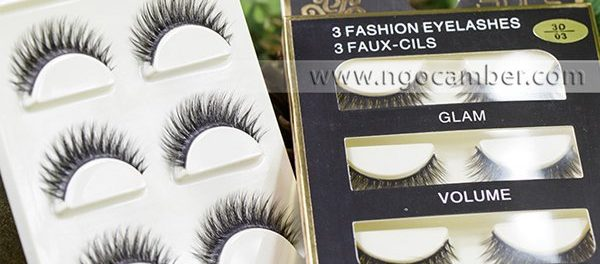 Mi giả 3 Fashion Eyelashes 3 Faux Cils
