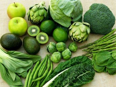 Ăn nhiều rau xanh nhằm tốt cho thai nhai