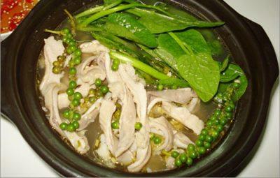 Hướng dẫn cách làm món bao tử hầm tiêu xanh thơm ngon