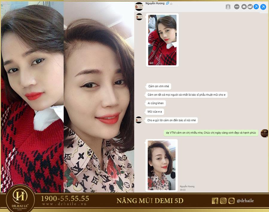 Review khách hàng gửi VTM Dr.Hải Lê